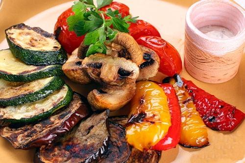 Овощи гриль в духовке как приготовить — pic 7