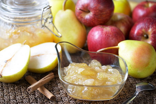 Варенье яблочно-грушевое
