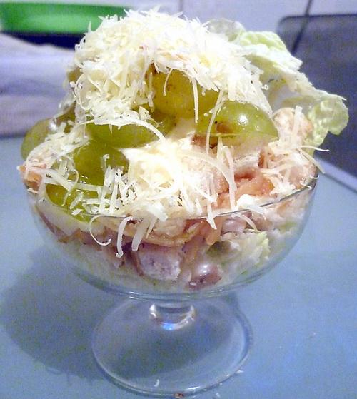 Праздничный салат из пекинской капусты
