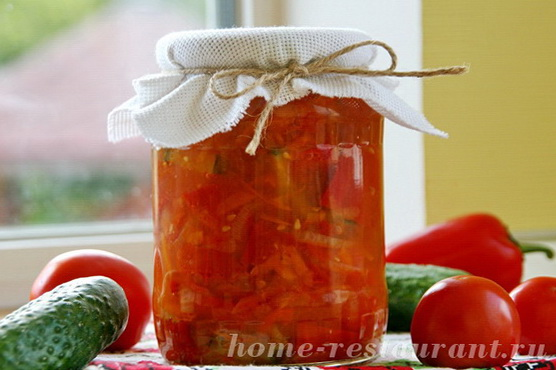 Овощной салат с помидорами фото 7