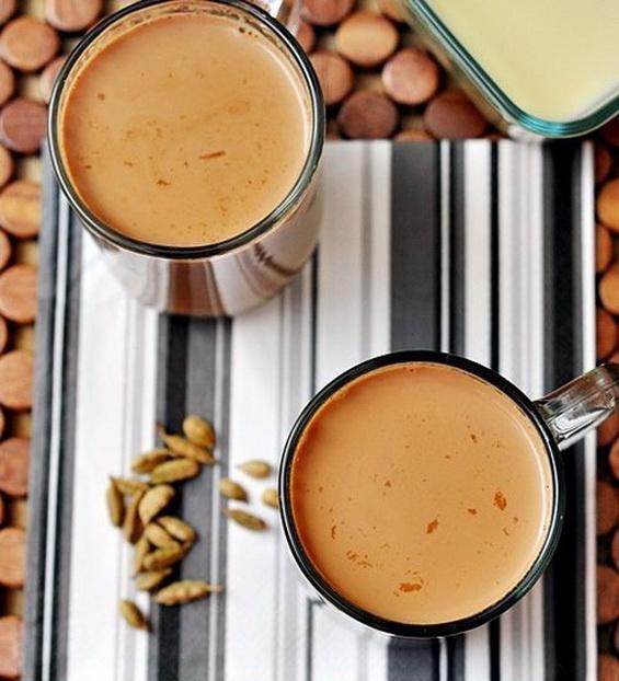 Масала чай (молочный чай со специями)