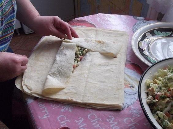 Домашняя шаурма: рецепт с фото!