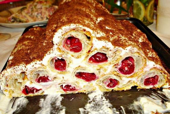 рецепт торта монастырская изба