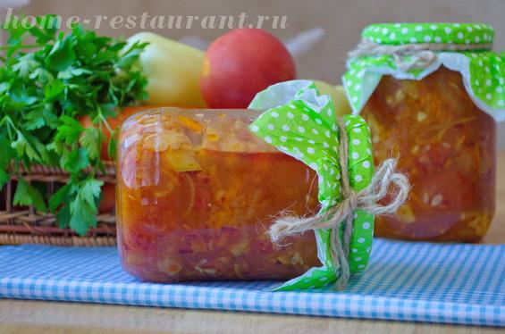 Салат из кабачков на зиму «Анкл Бенс»