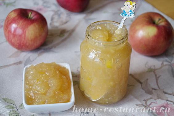 Варенье из яблок с лимоном «Вкус джина»