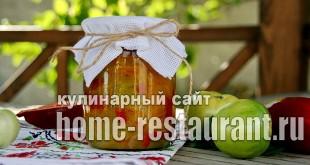 Салат из зеленых помидор на зиму «Цветик семицветик»_1