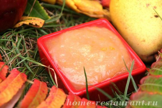 грушево-яблочное повидло с апельсинами фото 4