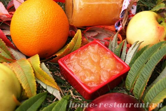 яблочно-апельсиновое повидло фото 3