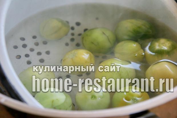 Консервированные зеленые помидоры_06