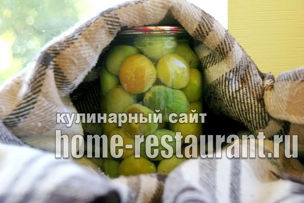 Консервированные зеленые помидоры_09