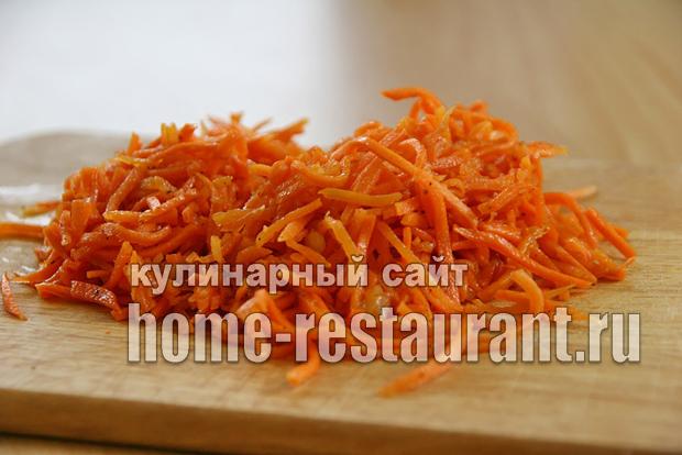Лаваш с корейской морковью и ветчиной «5 минут»_07