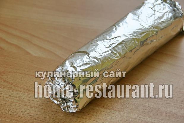 Лаваш с корейской морковью и ветчиной «5 минут»_11