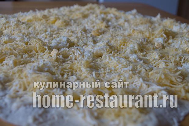 Рулет из лаваша с сыром «Белочка»_04