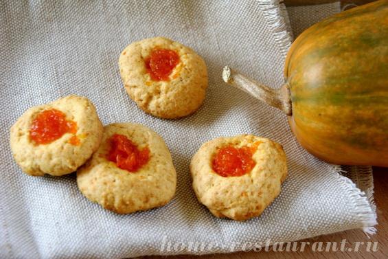 тыквенное печенье фото 6