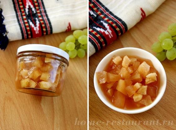 яблоки в виноградном сиропе фото 11
