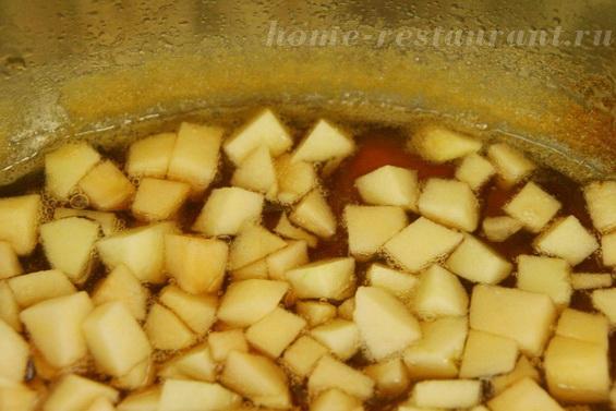 яблоки в виноградном сиропе фото 6