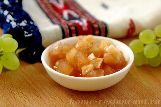 яблоки в виноградном сиропе фото 8