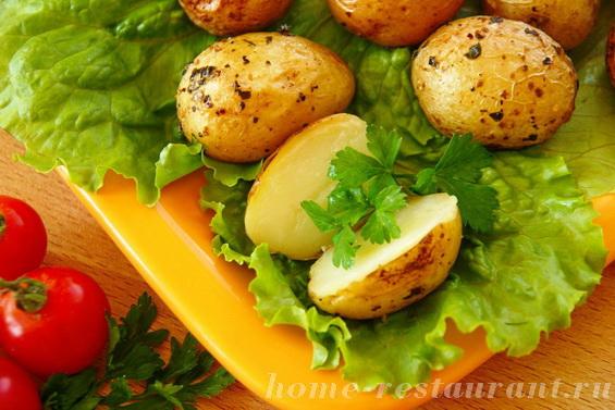 картошка с базиликом фото 14