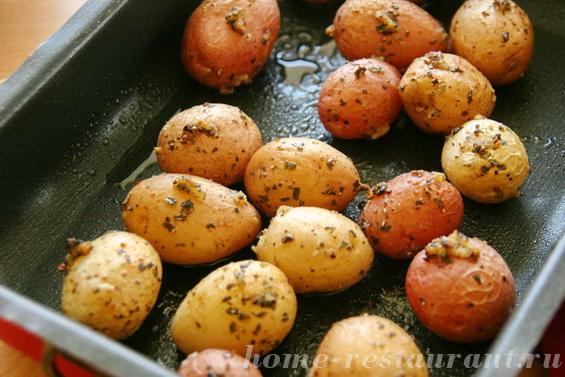 картошка с базиликом фото 6