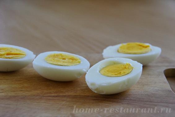 яйца фарш тунцом фото 2