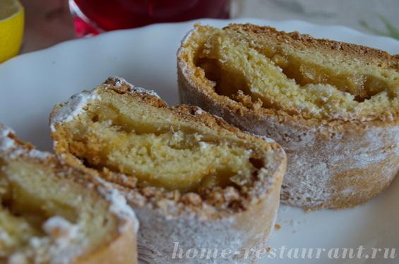 Лимонное печенье «Лакомка»