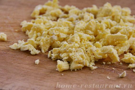 яйца с крабовыми палочками фото 8