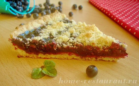 пирог с черникой фото 17
