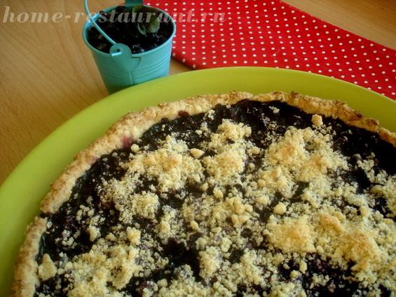 пирог с черникой фото 21