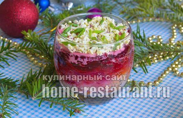 селедка под шубой классический рецепт слои фото_16
