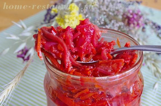 заправка для борща на зиму с помидорами