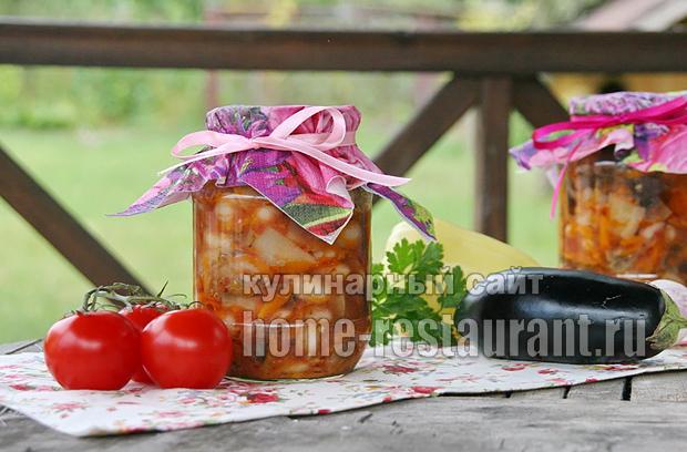 баклажаны с фасолью фото 16