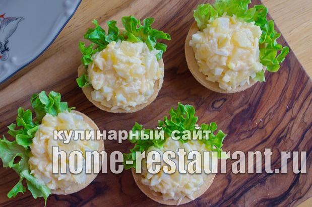 Начинка для тарталеток с ананасом и сыром_1