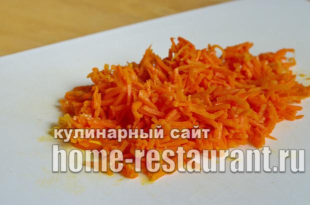 Салат в тарталетках с ветчиной и корейской морковкой_01