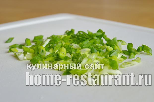 Салат в тарталетках с яйцом и огурцом_1