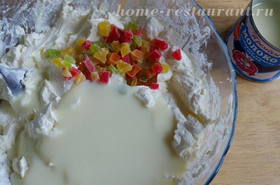 Творожная пасха на сгущенном молоке – кулинарный рецепт