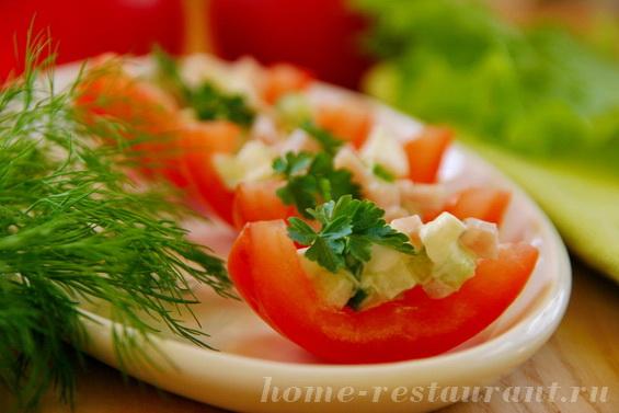 помидоры с моцареллой и ветчиной фото 11