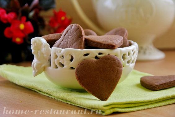 шоколадные сердечки фото 13