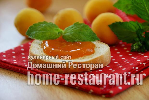 Абрикосовое повидло c лимонной цедрой фото_06