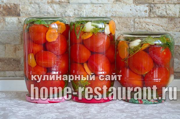 Консервированные помидоры с лимонной кислотой фото_10