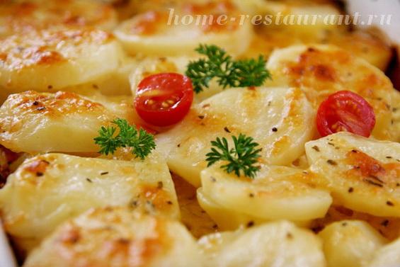 Картошка с сыром фото 12