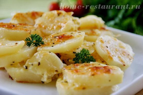 Картошка с сыром фото 14