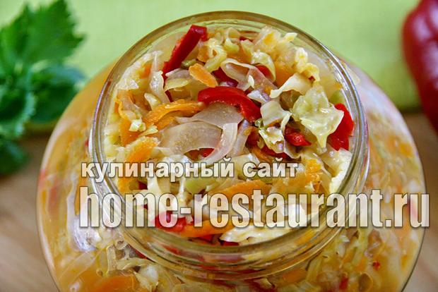 Салат из капусты на зиму «Рыжик»_09