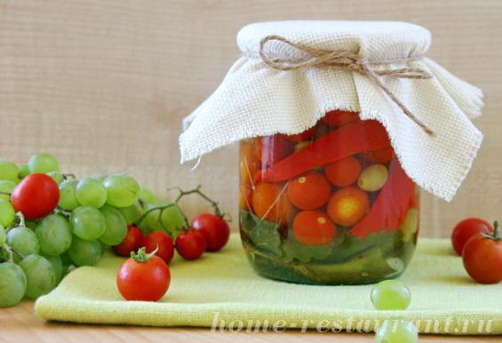 помидоры с виноградом и перцем фото 9