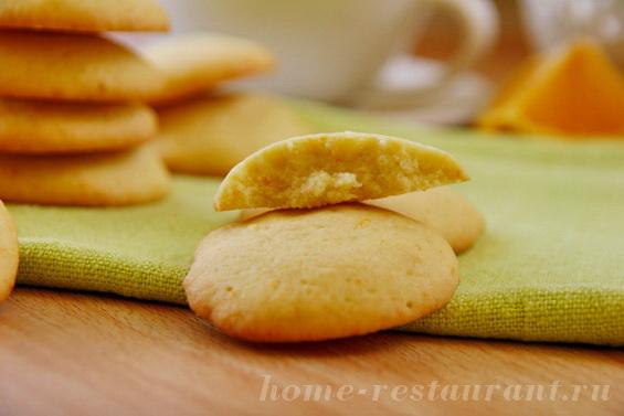 Мягкое печенье с апельсиновой цедрой фото 14
