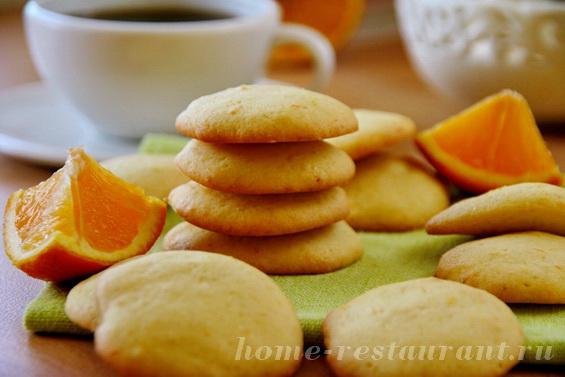 Мягкое печенье с апельсиновой цедрой фото 15
