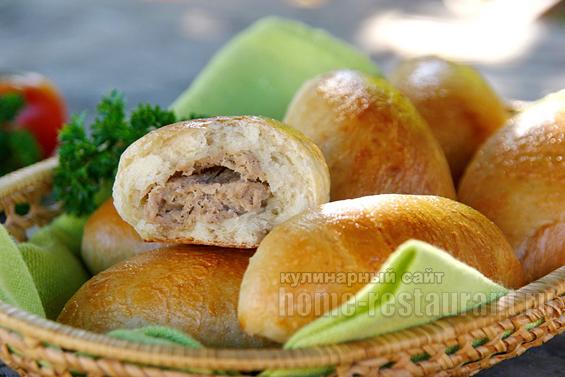 Пирожки с мясом в духовке фото 19