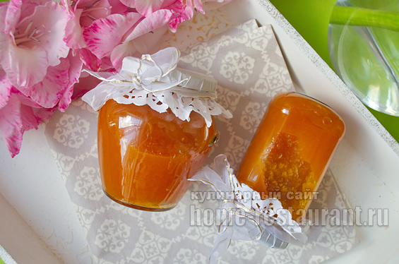 Апельсиновый джем с желфиксом