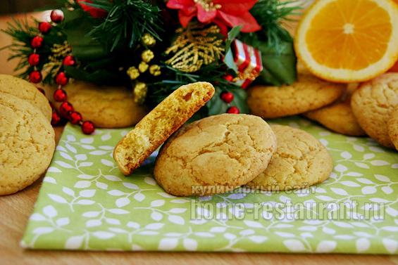 печенье с апельсином фото 11