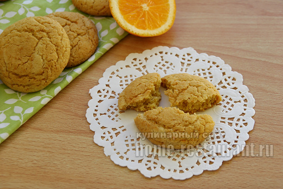 печенье с апельсином фото 14
