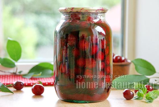 вишни в собственном соку фото 5